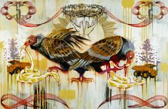 The Mixed Media Art of Hilary White Hilary White was raised in Gainesville, Florida, and later spent a large part of her artistic career in Philadelphia. She received a portfolio scholarship to attend the Savannah College of Art and Design and. Mixed Media Art, Savannah Chat, Gainesville Florida, Birds, Philadelphia, Artist, Connect, Career, College