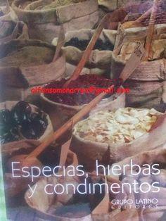 LIBROS DVDS CD-ROMS ENCICLOPEDIAS EDUCACIÓN EN PREESCOLAR. PRIMARIA. SECUNDARIA Y MÁS: ESPECIAS HIERBAS CONDIMENTOS COCINA