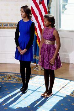 At President Obama's second swearing in ceremony.   - HarpersBAZAAR.com