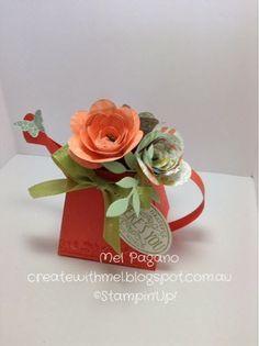 CreatewithMel: Spiral Flower Die Watering Can