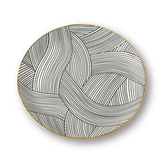 Fuelled by a curiosity about global art and culture, Bethan Gray presents this Lustre dinner plate for her namesake brand. Clay Plates, Ceramic Plates, Ceramic Art, Ceramic Decor, Pottery Plates, Slab Pottery, Ceramic Pottery, Pottery Patterns, Pottery Designs