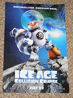 Ice Age Collision Course, Ice Age Movies, Movie Posters, Film Poster, Billboard, Film Posters