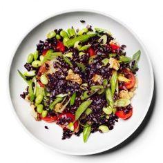 Wild Rice Salad with Corn, Blueberries, and Almonds Recipe - Bon Appétit
