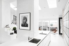 I really love simple black and white design with shades of grey, but it would be so impractical to live in a place like this.  Also, really hope the Bukowski in Bukowski real estate is somehow a reference to the writer.