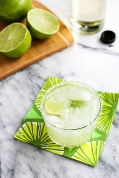 Margarita Recipe for One AND for a Crowd!
