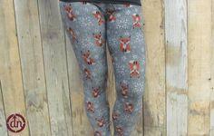 Fantastic Fox Children's Leggings Fantastic Fox, Children, Kids, Bedding, Fabrics, Leggings, My Style, Clothing, Shopping