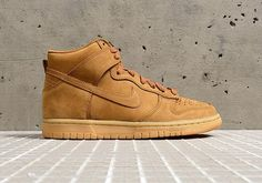 """#sneakers #news  The Nike Dunk High Receives Its Own """"Wheat"""" Colorway"""