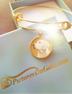 How much do you love your pet? We offer personalized photo engraved bracelets to express just how much we love our best friends. <3 #photobracelet