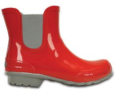 Staying dry and comfortable just got easier. Our Chelsea Rain boot is easy to wear, giving you waterproof protection (up to the gore panels, of course) with the Crocs comfort you want. Free shipping on qualifying orders.