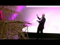 Theo Jansen at the Creativity World Forum 2008, Presenting Strandbeest: Making New Life - YouTube