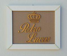Porta maternidade menino ,Pedro Lucas !