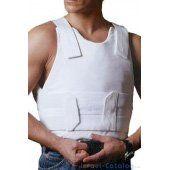 Bulletproof and Stab Proof Vest - Concealed Body Armor at www.tobesafeandsound.com  $559.00
