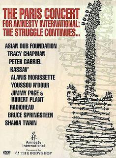The Paris Concert for Amnesty International - DTS Peter Gabriel, Tracy Chapman,