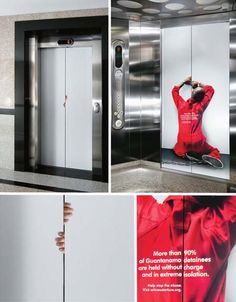 A Parallel World. Guerrilla marketing. Thought provoking posters.