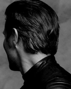 even the back of his head is sexy . . .