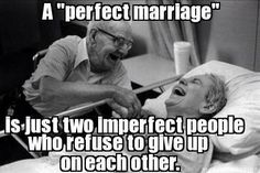 """Each marriage starts with two built-in handicaps. It involves two imperfect people. Happiness can come to them only through their earnest effort. Just as harmony comes from an orchestra only when its members make a concerted effort, so harmony in marriage also requires a concerted effort. That effort will succeed if each partner will minimize personal demands and maximize actions of loving selflessness."" –Russell M. Nelson"