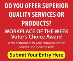 Be the winner of this week Award submit your entry today! http://www.workplace-weekly.com/2014/01/14/the-best-workplace-of-the-week-voters-choice-award/