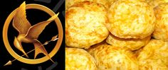 Recipe for Peeta's Cheese Buns from The Hunger Games books! TOTALLY want to try these - plus the link leads to the blog it came from, The Geeky Chef, which has tons more recipes for foods from books/movies, etc. :)