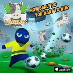 Tired of boring football games? FootLOL will help you relax! https://itunes.apple.com/us/app/footlol-crazy-football/id892380417