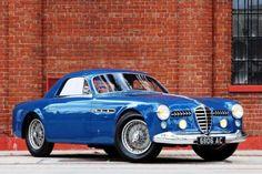 1950 Alfa Romeo 6C 2500 Supergioiello by Ghia.