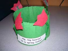First Day of Spring Flower Head Band from Making Learning Fun.