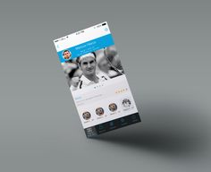 design mordern and minimal mobile app UI for android or ios by shelley_shaw