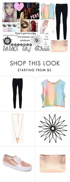 """WWA W/ Them"" by kennedey-lynn-freeman ❤ liked on Polyvore featuring Calder, J Brand, Forever 21, Vans and Alexander Wang"
