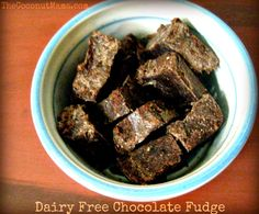 chocolate fudge made with coconut butter