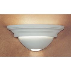 Fawn Great Ibiza Half-Moon Wall Sconce - (In Fawn)