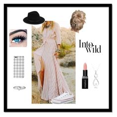 """""""Untitled #23"""" by zoey-11 on Polyvore featuring Converse, Saks Fifth Avenue, MINX, Smashbox, Avon and Anja"""