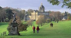 Castle Howard. Day trips and guided tours to Castle Howard and surrounding area by www.realyorkshiretours.co.uk