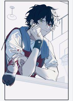 Cool Anime Guys, Cute Anime Boy, Anime Art Girl, Manga Art, Anime Boy Drawing, Anime Poses Reference, Art Reference, Fanarts Anime, Anime Characters