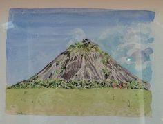 Cerro Cachicamo Acuarela  (30 cm x 23 cm) Cómpralo en #MambeShop por $360.000