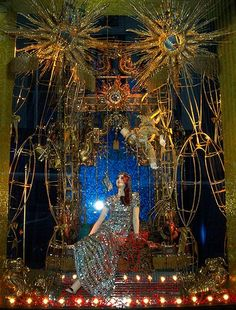"bergdorf christmas windows | Bergdorf Goodman Christmas window: ""Light"" 