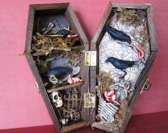 Macabre Shadow Coffin Boxes