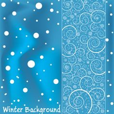 Abstract Dotted Blue Background with Swirls - http://www.welovesolo.com/abstract-dotted-blue-background-with-swirls/