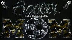 Soccer Mom zebra print