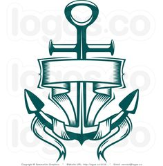 Royalty Free Anchor And Blank Banner Logo By Seamartini Graphics