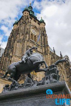 Prague Castle, Statue, Prague, Czech Republic, Uncontained Life