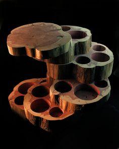 Five Tier Jewelry Box.  Cedar Wood, Unique Gift. $89.00, via Etsy.
