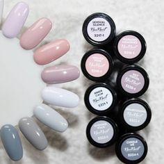 Los colores pastel en las uñas son los más bonitos •
