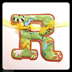 R - Embroidery It | Creative Embroidery Designs