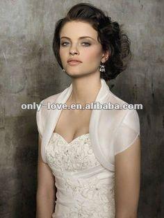 ivoor organza korte bolero jasje, bruiloft/bruids jas wb046-Bruiloft jassen/wrap-product-ID:529677438-dutch.alibaba.com