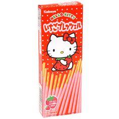 Hello Kitty Strawberry Chocolate Sticks