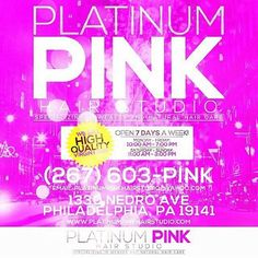 #Platinumpinkhairstudio #PhillySalon #PhillyStylists #Weaves #naturalhair #haircare