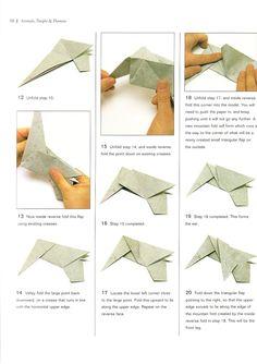 Elefante 3 6 Nobuyoshi Enomoto Origami ElephantOrigami InstructionsOrigami