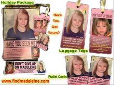 Raising awareness to help find Madeleine