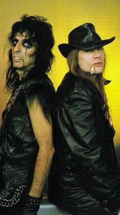 Alice Cooper & Axl Rose