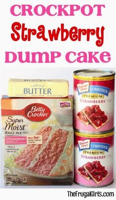 I get the giggles whenever I see a recipe for dump cake, I have made a few of these and they are so easy and good. Did I say easy?? Sure ...