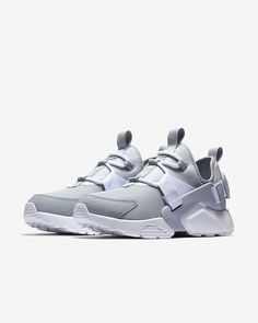 Nike Air Huarache City Low / Wolf Gray / 8.5